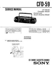 Buy Sony CFD-59L Manual by download Mauritron #229074