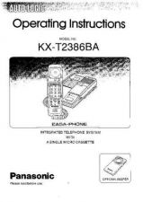 Buy Panasonic KXT3155 Operating Instruction Book by download Mauritron #236051