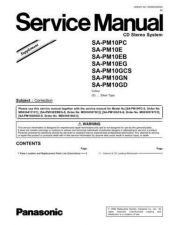 Buy Panasonic MD0609314SE Service Manual by download Mauritron #267803