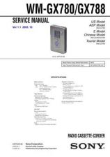 Buy Sony WM-GX711 Service Manual. by download Mauritron #245870