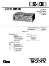 Buy Sony CDX-T68X.. Service Manual by download Mauritron #238646