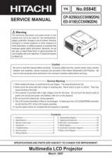 Buy Hitachi ED-S3350_IT Service Manual by download Mauritron #262089