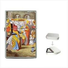 Buy Queen Of Hearts Art Flip Top Cigarette Lighter Alice In Wonderland