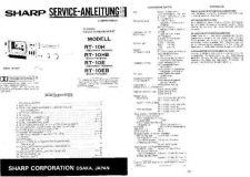 Buy Sharp RT10H-HB-E-EB SM DE(1) Service Manual by download Mauritron #209475