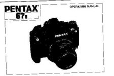 Buy PENTAX 67II CAMERA INSTRUCTIONS by download #118982
