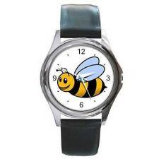 Buy Honey Bumble Bee Cartoon Art Unisex Wrist Watch