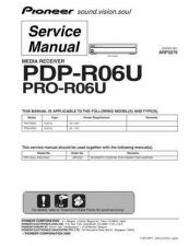 Buy Pioneer PDP-S41 Service Manual by download Mauritron #235181