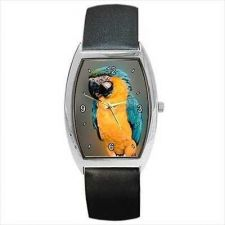 Buy Parrot Macaw Pet Tropical Bird Unisex Wrist Watch NEW