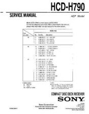 Buy Sony HCD-H771D Manual by download Mauritron #229232