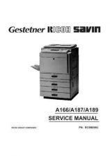 Buy Hitachi A166-A187-A189 Service Manual by download Mauritron #263304