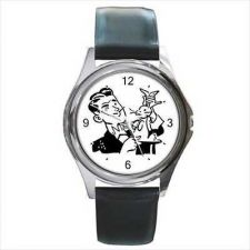 Buy Magician Magic Rabbit Hat Trick Retro Art Wrist Watch