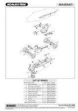 Buy Scalextrix No.364B Maserati 250F Service Sheets by download Mauritron #206492