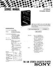Buy Sony WM-F100 Service Manual. by download Mauritron #245691