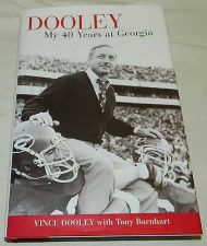 Buy vince dooley my 40 years at georgia bulldogs football autographed book