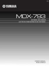 Buy Yamaha MDX-793 Operating Guide by download Mauritron #248677