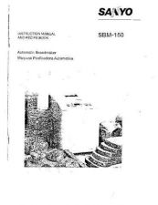 Buy Fisher SBM-150(OM) Manual by download Mauritron #216571