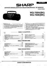 Buy Sharp. WQ70H-E_SM_GB-DE-FR Service Manual by download Mauritron #211788