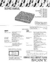 Buy Sony D-345 Service Manual by download Mauritron #239434