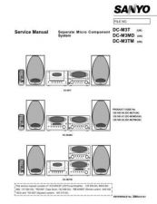 Buy Fisher Service Manual For DC-M3T MD TM by download Mauritron #217021