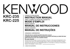 Buy Kenwood KRC-25RA Operating Guide by download Mauritron #219243