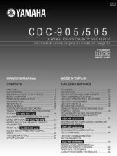 Buy Yamaha CDC-555 Operating Guide by download Mauritron #246963