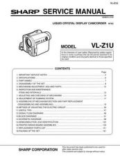 Buy Sharp. VLZ1566 Service Manual by download Mauritron #211522