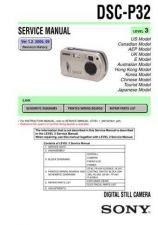 Buy Sony DSC-P51P51M Technical Information by download Mauritron #235576