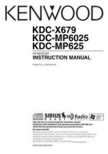 Buy Kenwood KDC-X679 by download Mauritron #219112