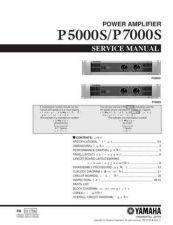 Buy Yamaha P250 PL C Manual by download Mauritron #258429