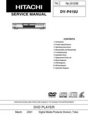 Buy Hitachi TK-9103E Service Manual by download Mauritron #264546