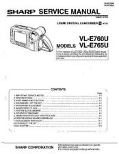 Buy Sharp VLA107 Service Manual by download Mauritron #210710