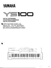 Buy Yamaha YS100E Operating Guide by download Mauritron #205669