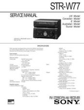 Buy Sony ST-S550ES Service Information by download Mauritron #238168
