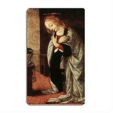 Buy Annunciation To Mary Art Leonardo Da Vinci Art Vinyl Fridge Magnet