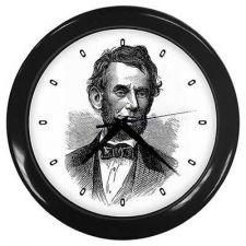 Buy Abraham Lincoln President Portrait Art Wall Clock