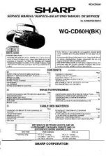 Buy Sharp. WQCD60H685 Service Manual by download Mauritron #211834