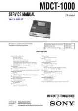 Buy Sony MDM-X3 Service Manual. by download Mauritron #242427