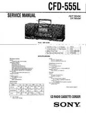 Buy Sony CFD-560 Service Manual by download Mauritron #238733