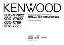 Buy Kenwood KDC-X789 Operating Guide by download Mauritron #222383