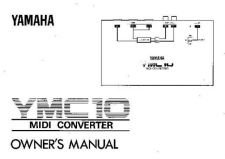 Buy Yamaha YMC10E Operating Guide by download Mauritron #250332