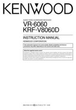Buy Kenwood VR-606 Operating Guide by download Mauritron #219771