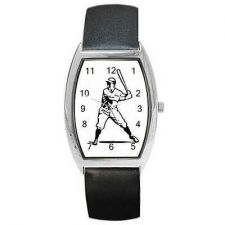 Buy Baseball Player Man Batter Retro Art New Wrist Watch