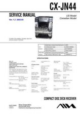 Buy Sony CX-JN44 Manual-1663 by download Mauritron #228450