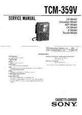 Buy Sony TC-WA8ES-WR765S Service Information by download Mauritron #238232