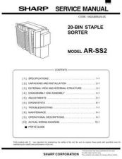 Buy Sharp ARSS2 PG GB Service Manual by download Mauritron #208373