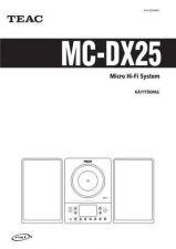 Buy Teac MC-DX25(FI) Service Manual by download Mauritron #223804