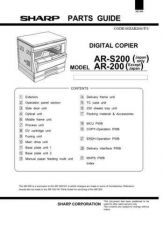 Buy Sharp AR205-N205-S205 PG GB(1) Service Manual by download Mauritron #208081