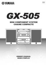 Buy Yamaha GX-500VCD Operating Guide by download Mauritron #248069
