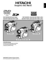 Buy Hitachi DZ-MV780E DA Manual by download Mauritron #225052