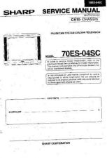 Buy Sharp 70ES04SC (1) Service Manual by download Mauritron #207922